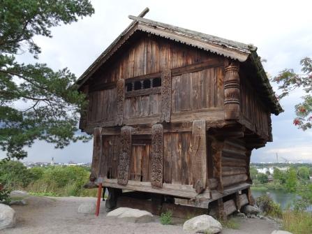 Traditional Swedish house at Skansen