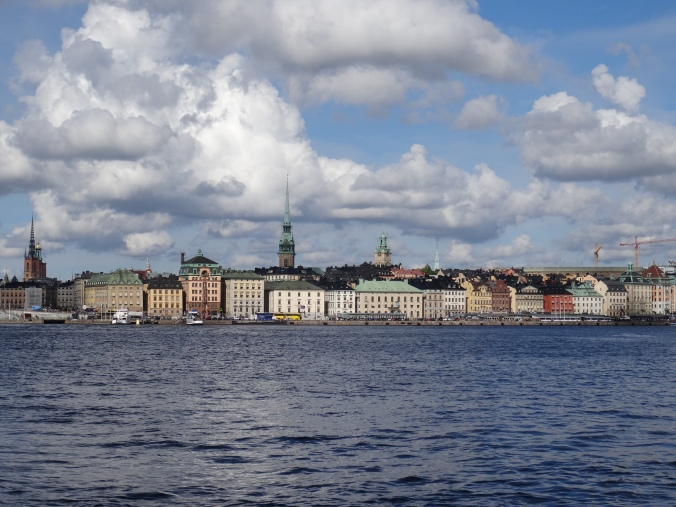 The view across the water from Gamla Stan