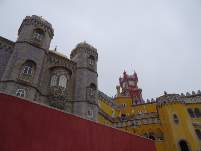 The Pena National Palace at Sintra, Portugal