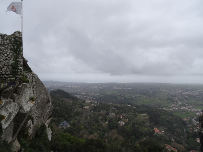 View from Sintra's Moorish castle