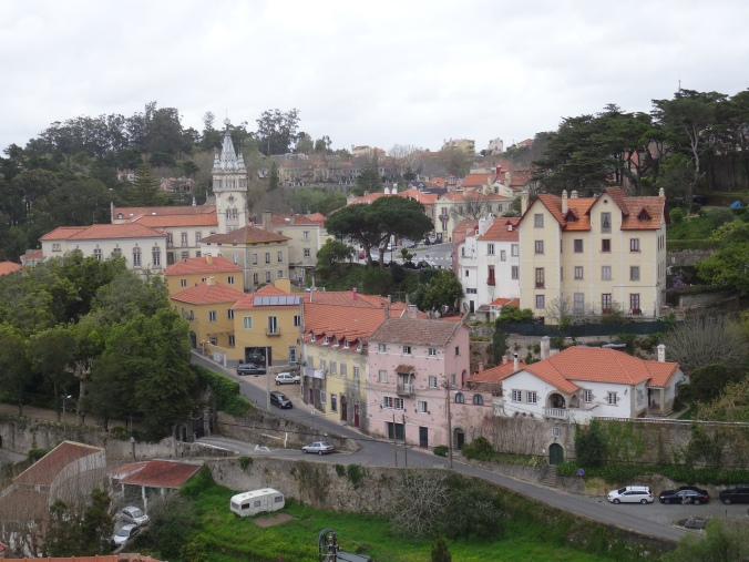 The pretty town of Sintra, Portugal