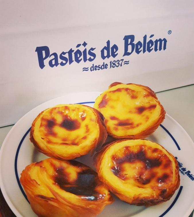 Pasteis de Nata at Pasteis de Belem