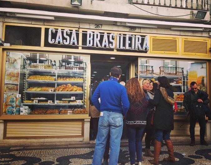 Delicious bacalhau at Casa Brasileira