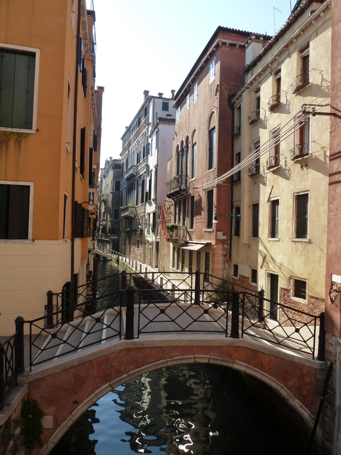 Venice's bridges and narrow streets
