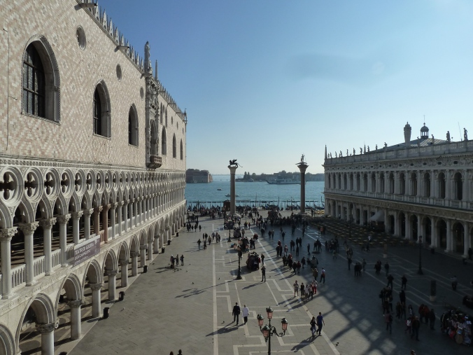 Palazzzo Ducale seen from St Mark's