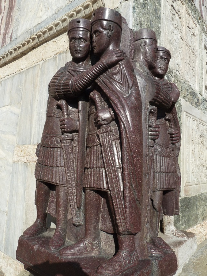 Porphyry statue of the Four Tetrarchs