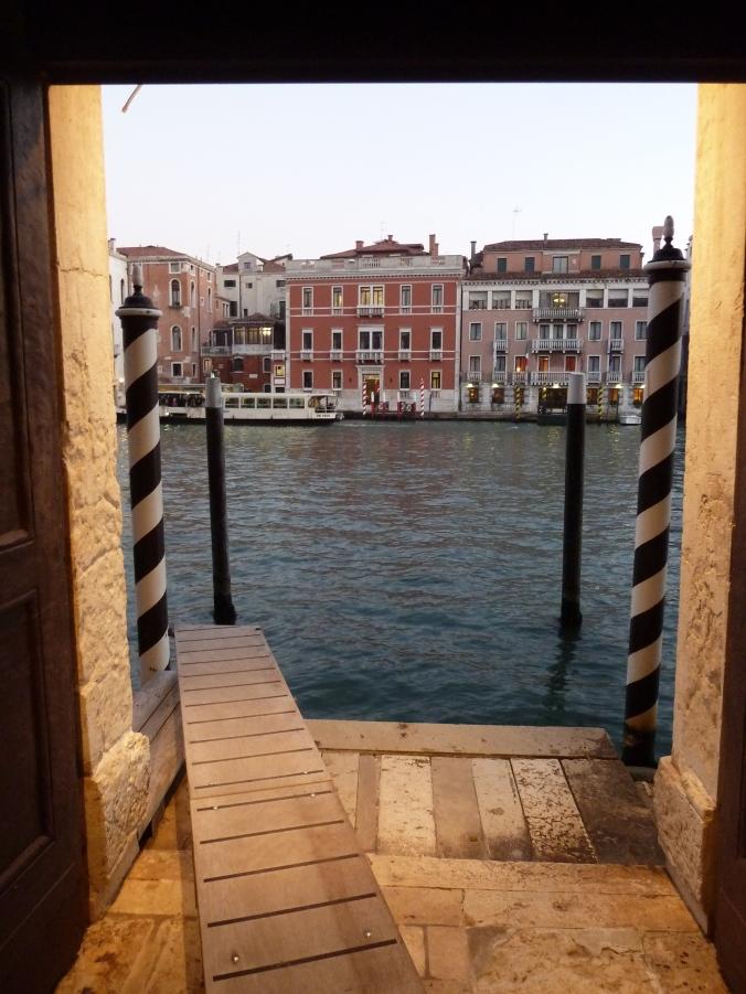 Palazzo Barbarigo opens right onto the Grand Canal