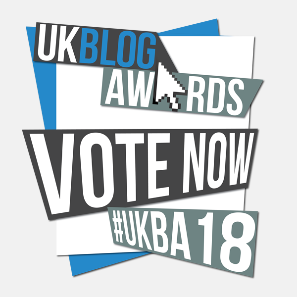 UK blog awards - pinterest