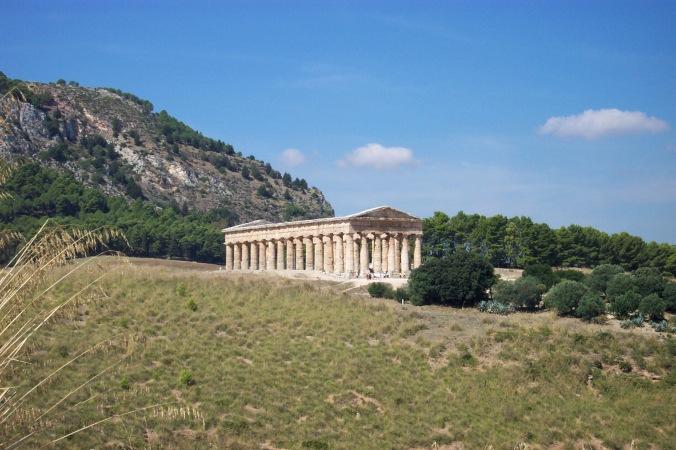 The Doric temple at Segesta