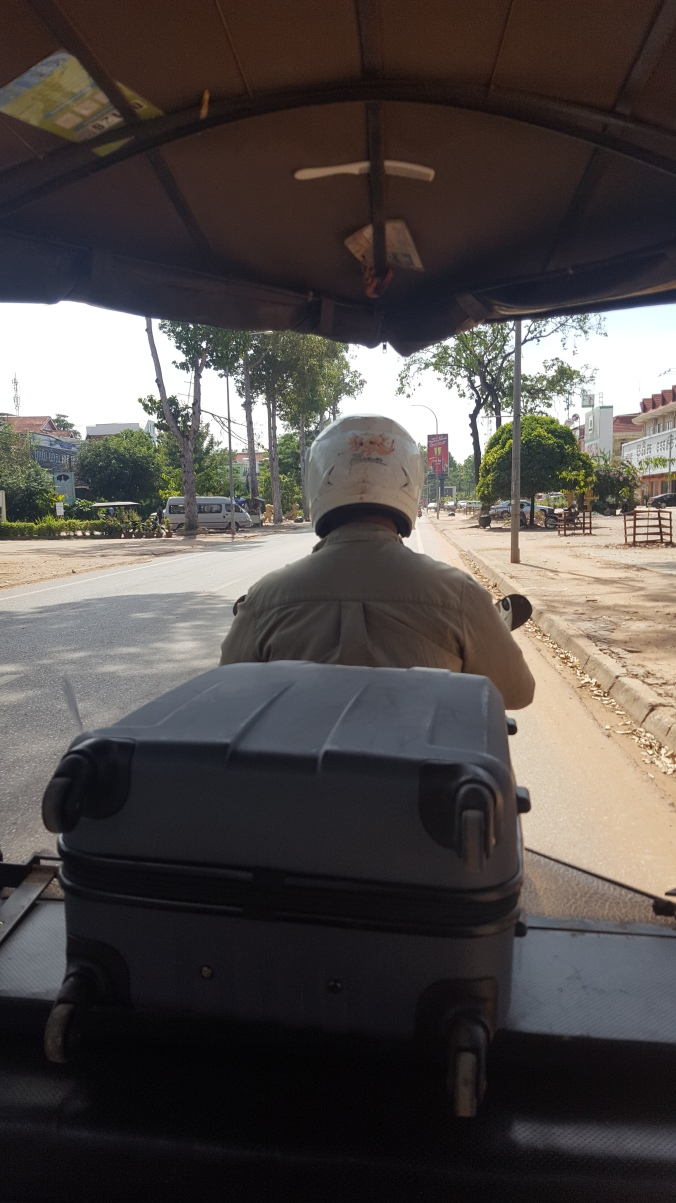Siem Reap tuk tuk ride