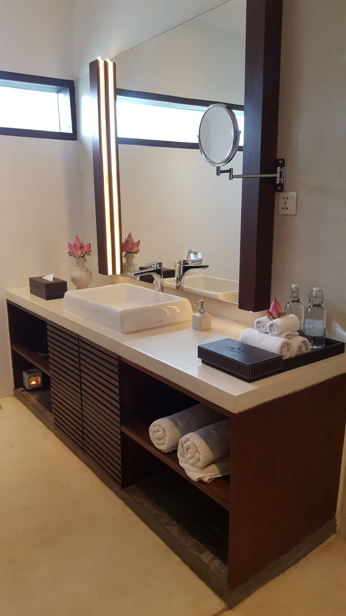 The bathroom at Jaya House Riverpark