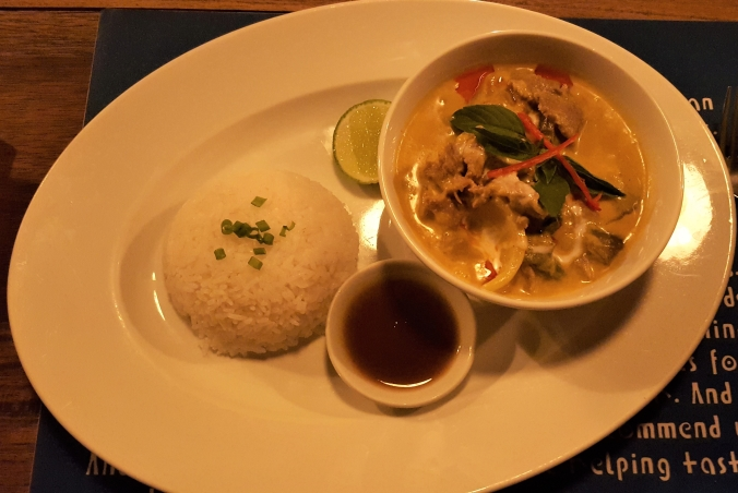Khmer Curry at Haven Restaurant, Siem Reap