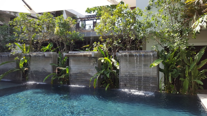 One of the pools at Jaya House Riverpark