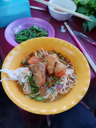 Chicken noodle soup in Road 60 Market