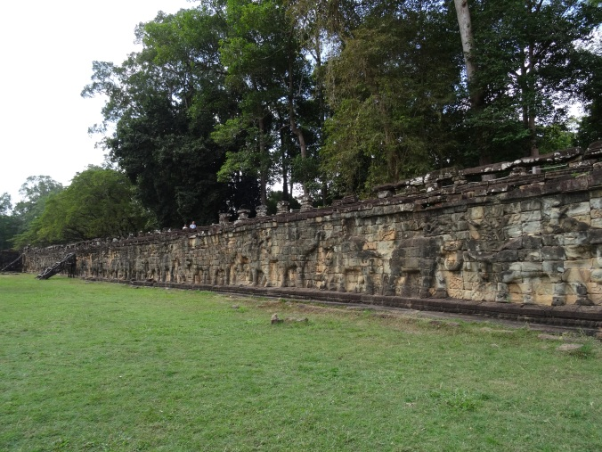 Terrace of the Elephants in Angkor Thom