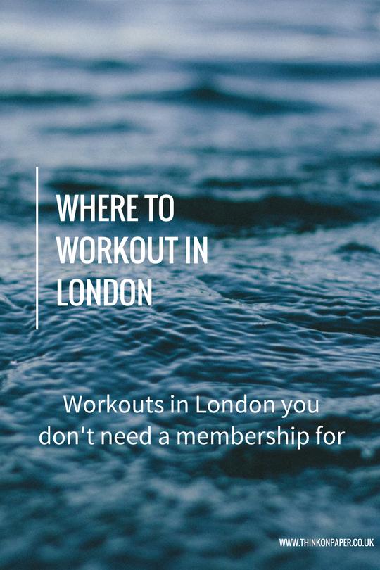 London workouts