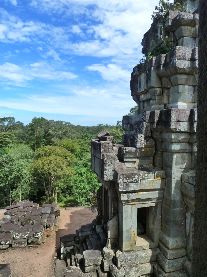 The view from the top of Ta Keo temple