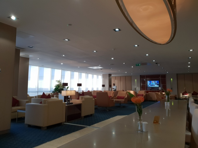 Emirates lounge Gatwick
