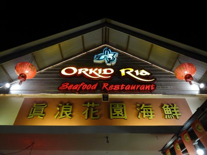 Orkid Ria Restaurant, Pantai Cenang, Langkawi