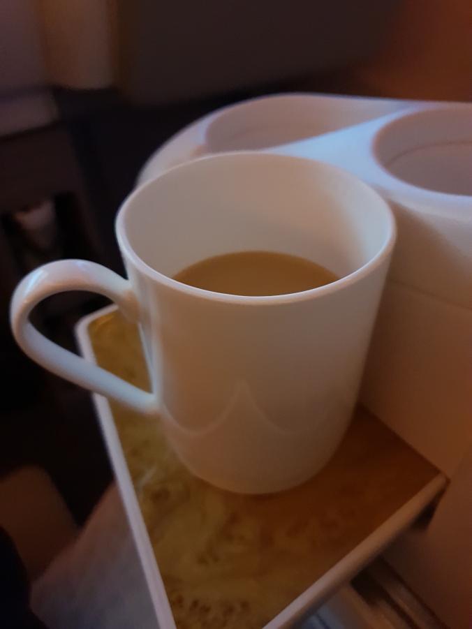 Tea from a proper mug!