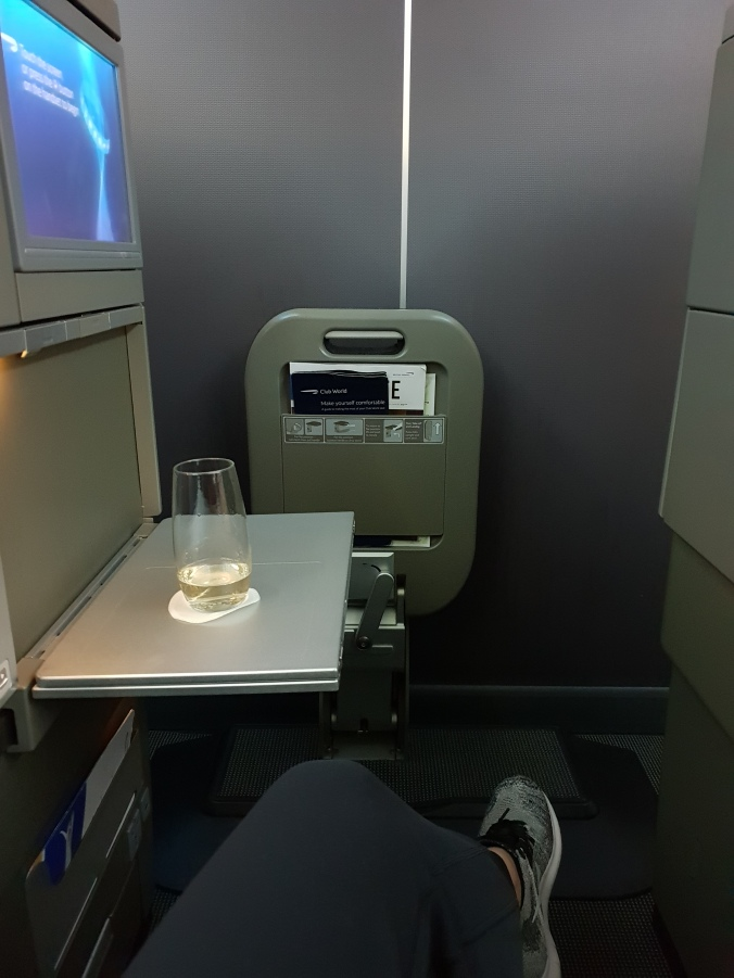 British Airways Club World 787-9