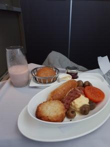 Breakfast - full English (when did a hash brown make the cut as an English breakfast food?)