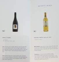 Finnair business class drinks list - white wine