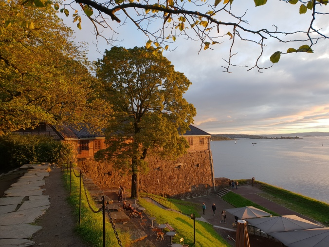 Akerhus Fortress, Oslo at sunset