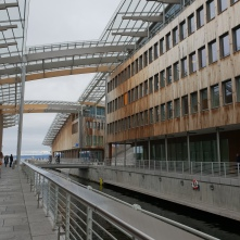 The Astrup Fearnley Museet, designed by Renzo Piano