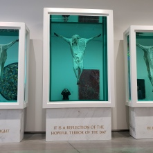 Damien Hirst in the Astrup Fearnley Museet