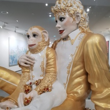 Jeff Koons in the Astrup Fearnley Museet