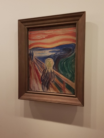 A version of Munch's famous, The Scream, Munch Museum, Oslo