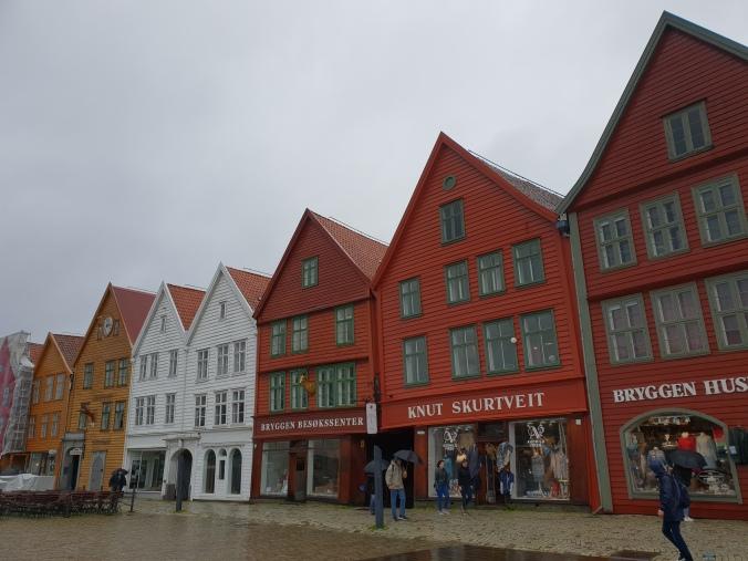 Bryggen's historic buildings, Bergen