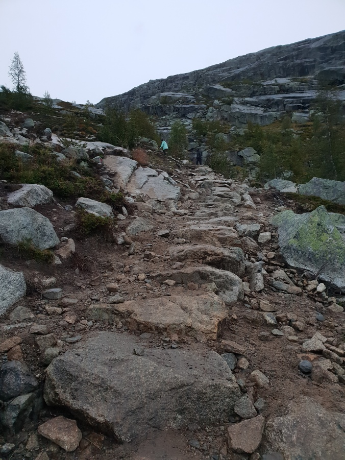Start of Trolltunga trail