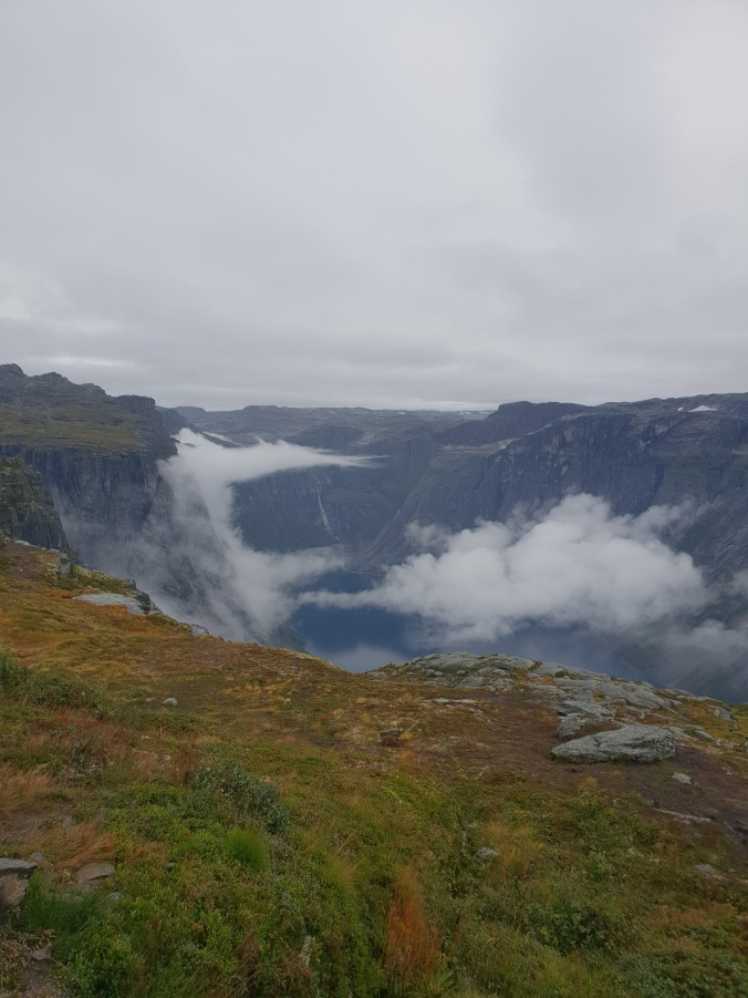 Fjord view from Trolltunga