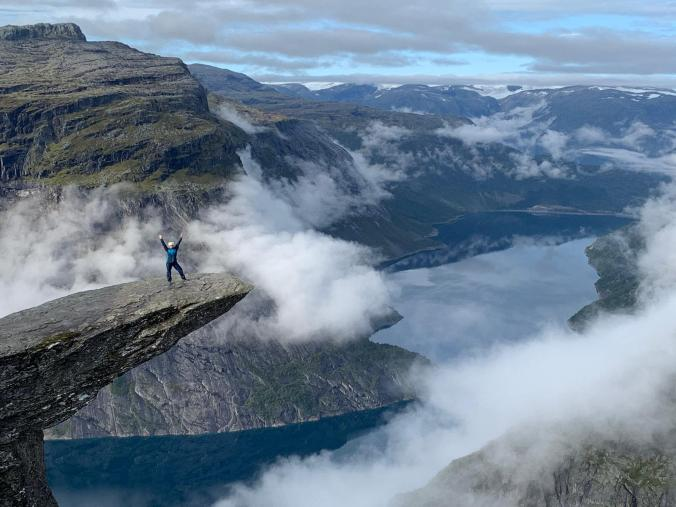 The Troll's tongue of Trolltunga