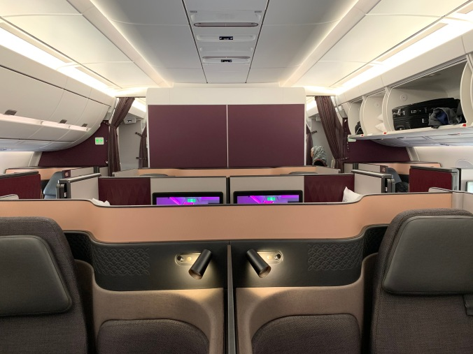 Qatar Airways business class A350-900 Qsuites