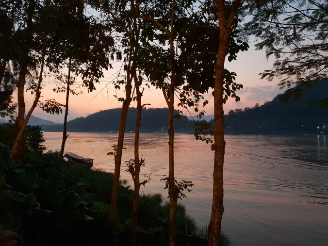 Sunset on the Mekong, Luang Prabang