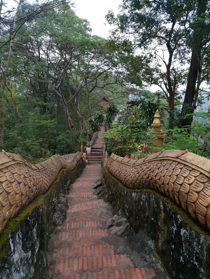 Path down Mount Phousi, Luang Prabang