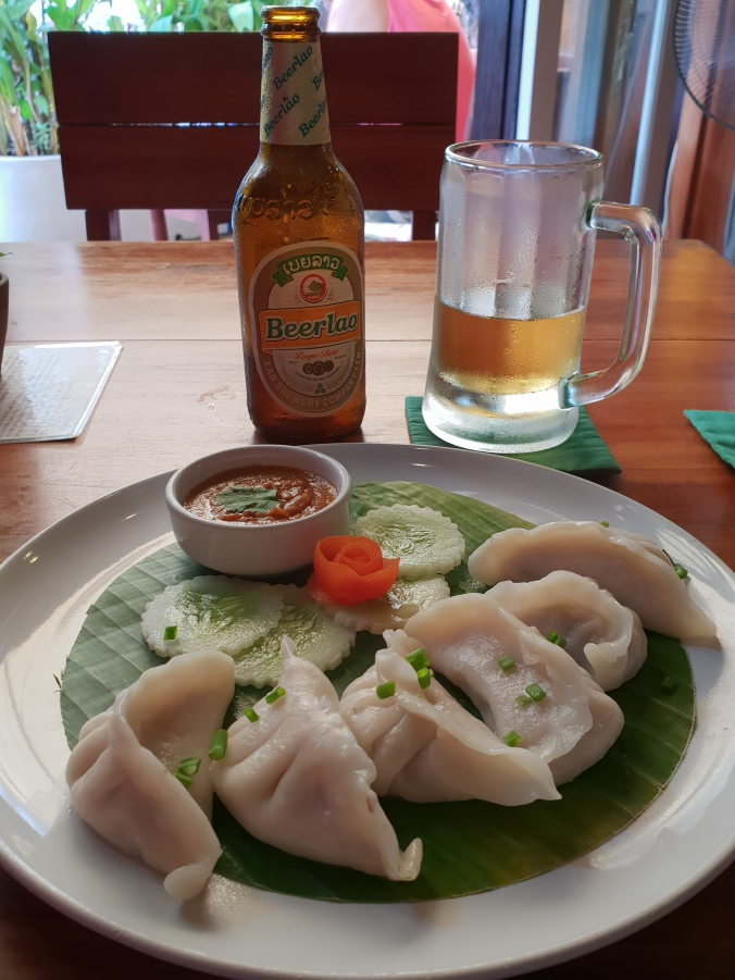 Food in Luang Prabang's Khaiphaen