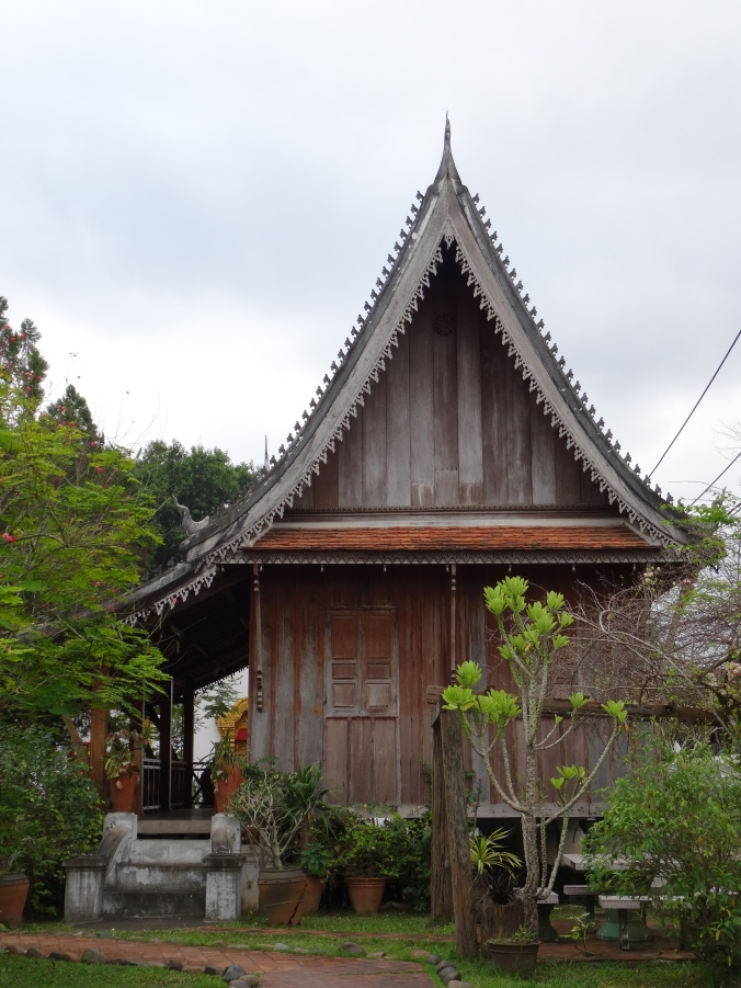 A historic, Unesco listed building in Luang Prabang
