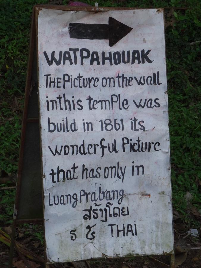 Wat Pahouak, Luang Prabang