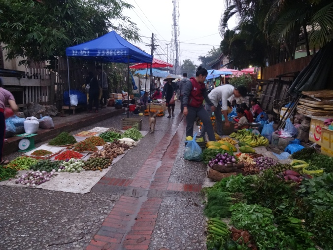Luang Prabang's morning market