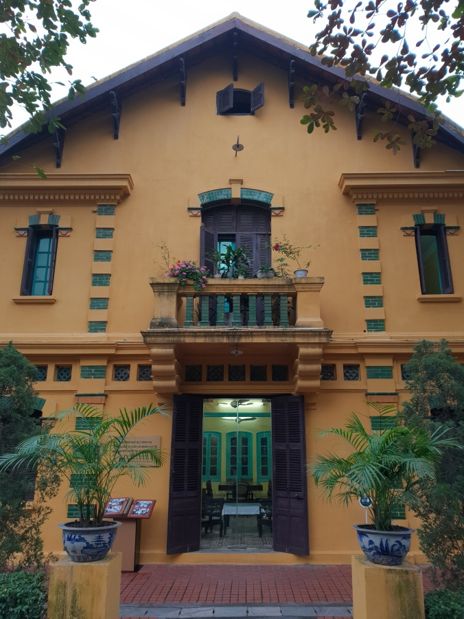 Part of House 54 used for Politburo meetings, Hanoi