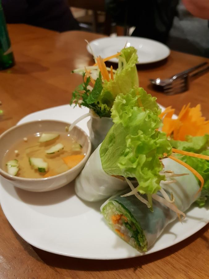 20200120_1Fresh spring rolls at Hong Hoia's, Hanoi