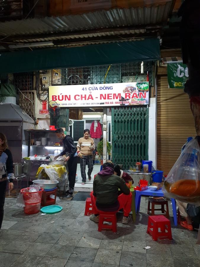Bun Cha Nem Ran, Hanoi