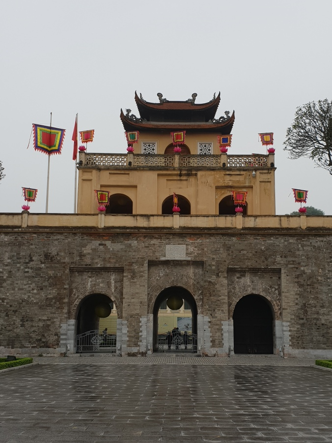 The Doan Mon Gate to Thang Long Imperial Citadel