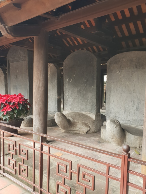 The Stelae of Doctors, Temple of Literature, Hanoi