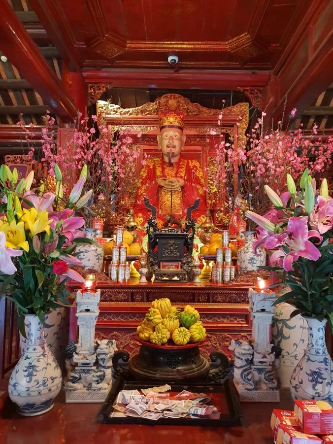 Inside Hanoi's Temple of Literature