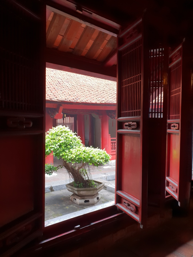Inside Hanoi's Temple of Literature